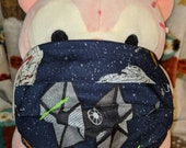Star Wars TIE fighter and millennium falcon Washable Filter Pocket Multi Layers Fabric Mask