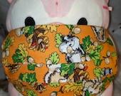 Chipmunks Wildlife Washable Filter Pocket Multi Layers Fabric Mask