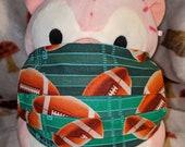 Football Washable Filter Pocket Multi Layers Fabric Mask