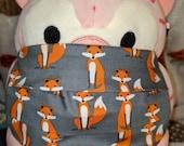 Dashing Fox Washable Filter Pocket Multi Layers Fabric Mask