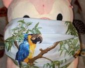 Parrot Wildlife Washable Filter Pocket Multi Layers Fabric Mask