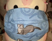Friendly Ferret Washable Filter Pocket Multi Layers Fabric Mask