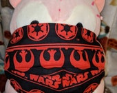 Star Wars Logo Red Washable Filter Pocket Multi Layers Fabric Mask