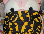 Batman Signal Logo Washable Filter Pocket Multi Layers Fabric Mask