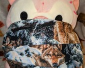 Wolf Washable Filter Pocket Multi Layers Fabric Mask