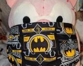 Batman Bat Signal Logo Black Wayne Industries Washable Filter Pocket Multi Layers Fabric Mask