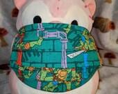 Ninja Turtles Green Washable Filter Pocket Multi Layers Fabric Mask