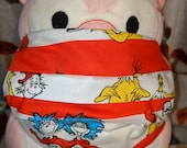 Dr Seuss Books Scenes Washable Filter Pocket Multi Layers Fabric Mask