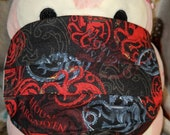 Game of Thrones Targaryen House Crests Washable Filter Pocket Multi Layers Fabric Mask