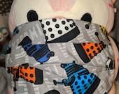 Dr Who Colorful Daleks Washable Filter Pocket Multi Layers Fabric Mask