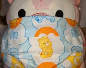 Sunshine Carebears Washable Filter Pocket Multi Layers Fabric Mask