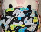 Video Game Controllers Washable Filter Pocket Multi Layers Fabric Mask