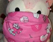 Aristocats Love Marie Washable Filter Pocket Multi Layers Fabric Mask