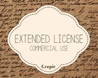 Extended License for Commercial Use: Add-On