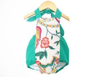 Size NB-24M/ Baby romper Pattern/ Boho romper/ Sunsuit Pattern/ Childrens Sewing Pattern/ Summer romper pattern/PDF Easy Sew