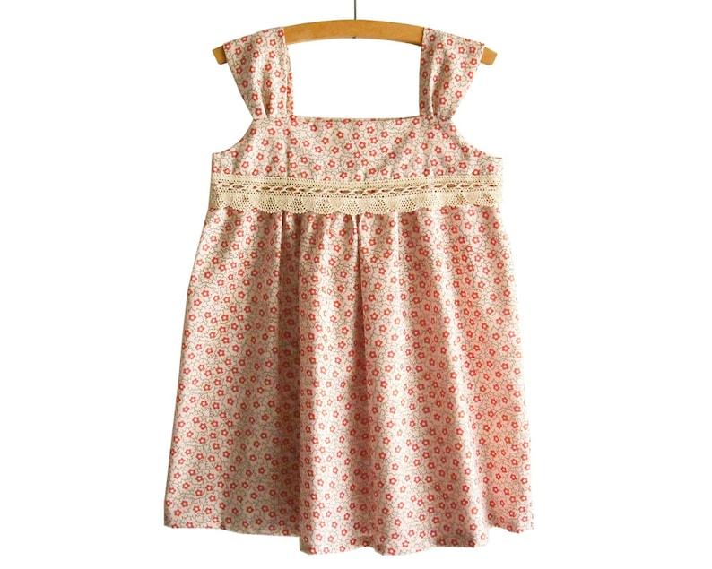 82407988b0a8 Size 2-6Y  Summer Girl Dress Pattern Tutorial  Toddler dress