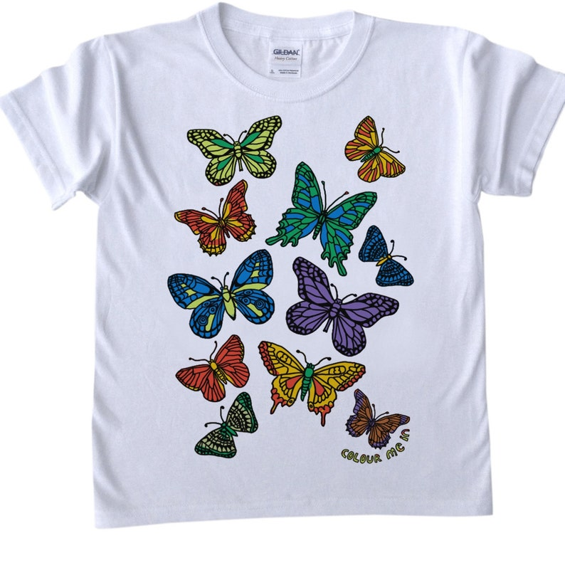 Butterfly Butterfly Fabric Painting Designs