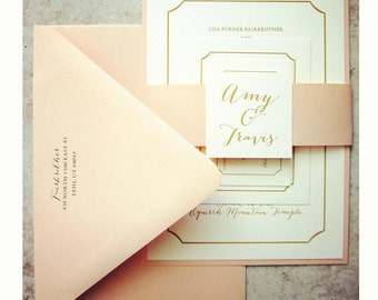 Wedding Invitations Save the Dates & Thank by BellaAnnouncements