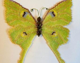 Luna Moth PDF Pattern and Tutorial