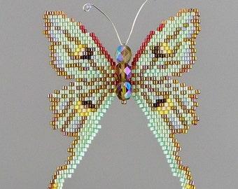 Small Luna Moth PDF Pattern and Tutorial