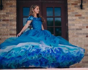 830a4efa1c2f Cinderella Disney Dress - Costume / Cosplay Gown - 2015 Live Action Movie -  Womens - Custom Size