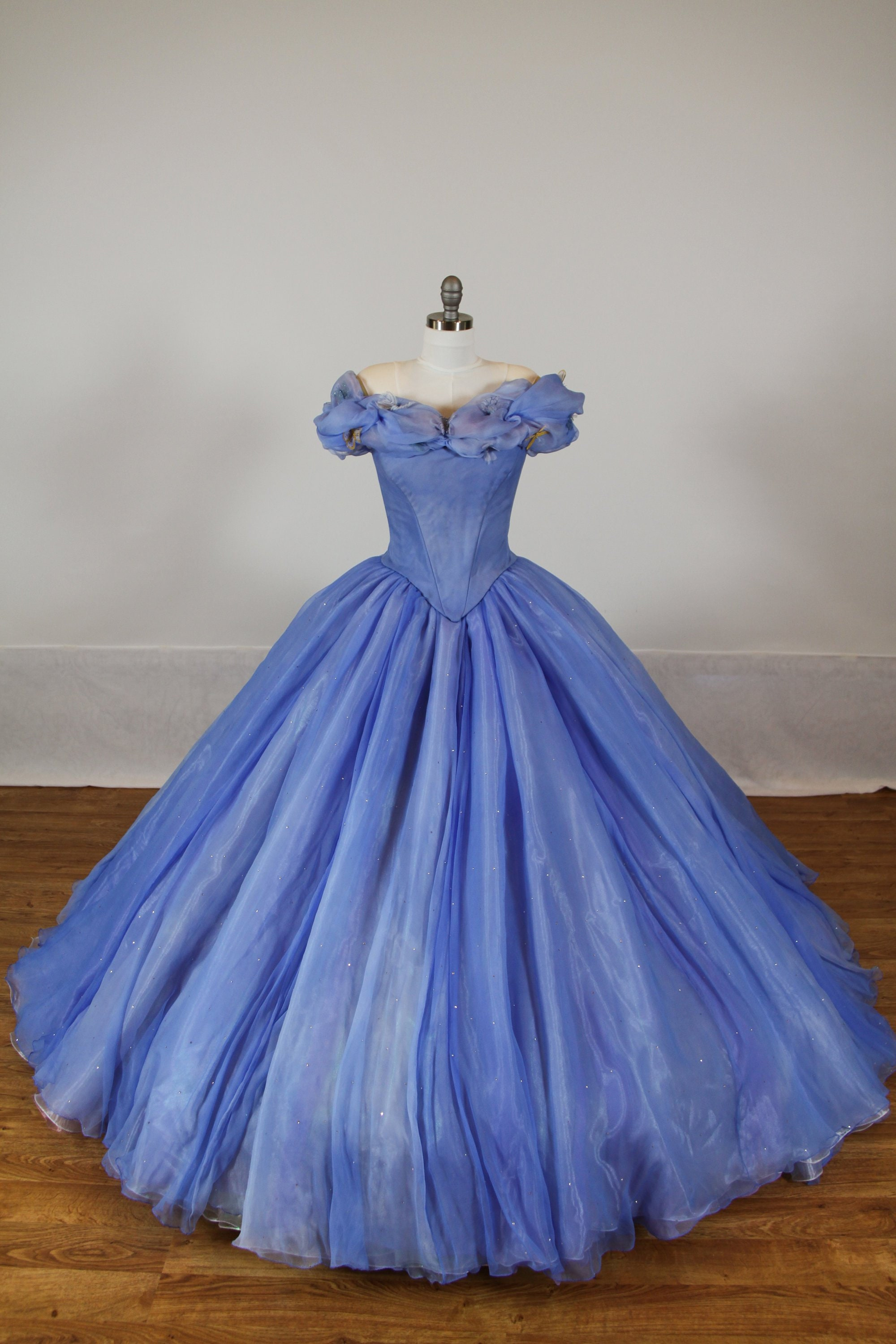 a3aa5c9d438a9 UPGRADED - Cinderella Disney Dress - Costume / Cosplay Gown - 2015 Live  Action Movie - Women - Custom Size