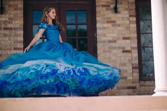 Items similar to Cinderella Disney Dress - Costume ...