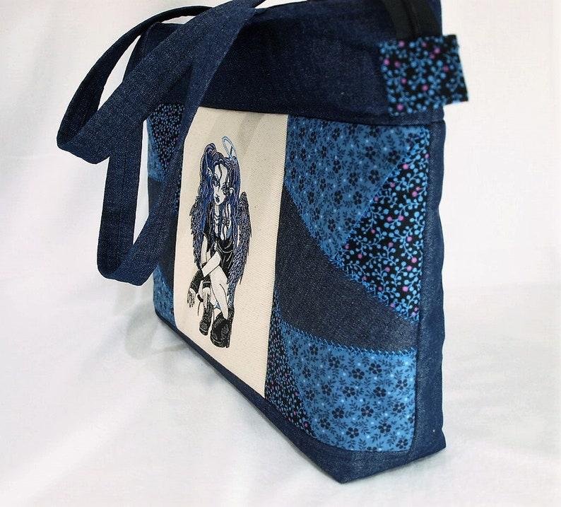 steampunk accessory Steam Punk embroidery design Steampunk embroidery Steam Punk Tote Bag Crazy Patchwork Tote Bag Steampunk tote bag