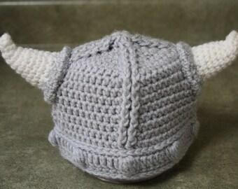 Crocheted Infants Viking Hat  c019492c476