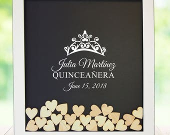 Guest book frame | Etsy