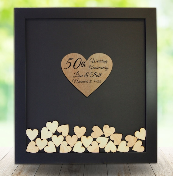 50th anniversary gift ideas 50th anniversary guest book etsy