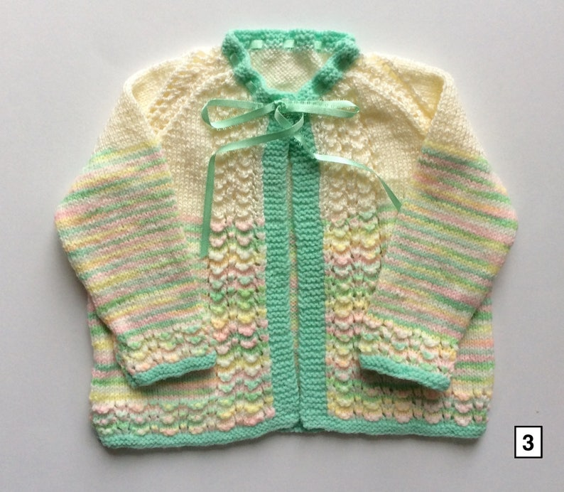 501ebee6f8d6 Knitted baby matinee coat knit sweater newborn child