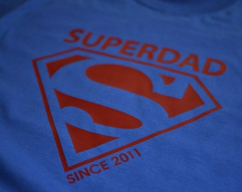Super dad shirt Fathers Day t shirt Father's Day gift