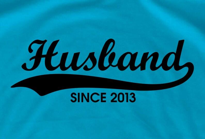 Husband Shirt Gift Hubby Birthday Groom T Wifey Shirts Wedding Tee And Wife