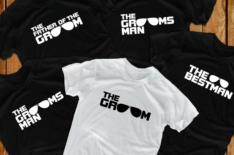 5481ab8d Bachelor Party Shirts Groomsmen Shirts Groom t shirts | Etsy
