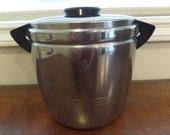 Vintage Barware, Landers Faray Clark, Ice Bucket, Chrome Art Moderne, 1940s Barware, Ice Bucket Vintage, Drink and Barware, Gift for Him