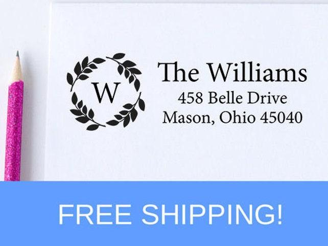 Self Inking Address Stamp - Return Address Stamp - Personalized Address Stamp   (D162)