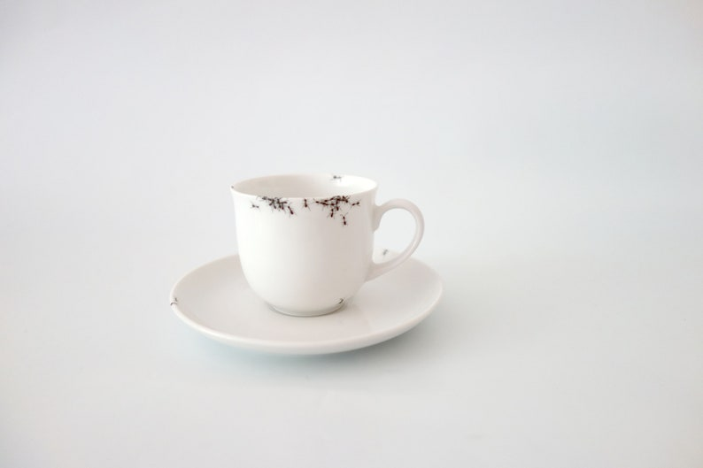 Chitins Gloss  Coffee Cup  Espresso  Vintage Porcelain  image 0