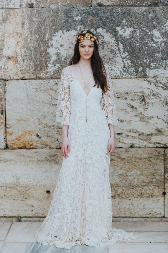 Hippie Wedding Dress Off 72 Www Daralnahda Com