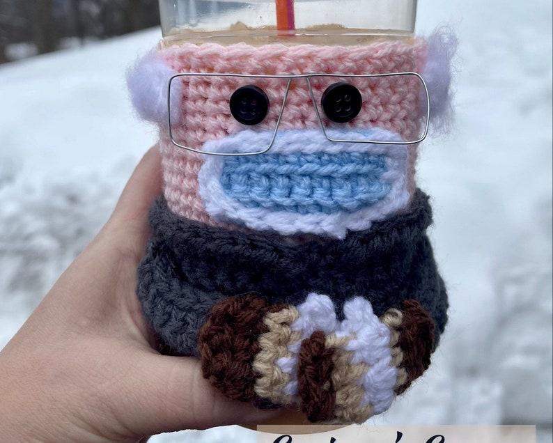 Bernie drink sleeve coffee cozy tea cozies sanders image 0