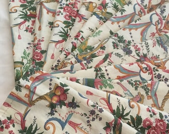 French Toile Fabric Napkins (set of 12)