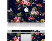 Flowers -- Macbook Protective Decals Stickers Mac Cover Skins Vinyl Case for Apple Laptop Macbook Pro/Macbook Air/iPad
