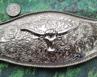 New Fashion Western Steer Charging Bull Vintage Men Rodeo Cowboy Belt Buckles ka