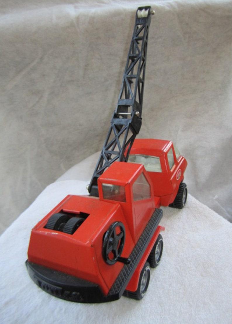 Tractor Tonka Snub Nose Crane Truck