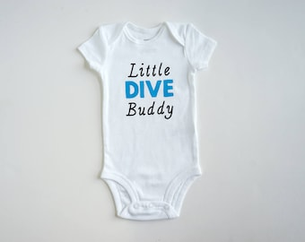 Ocean Lover Unique Baby Gift Mimi/'s Future Diving Buddy Onesie New Grandmother SCUBA Snorkel Beach Baby Onsie Pregnancy Announcement