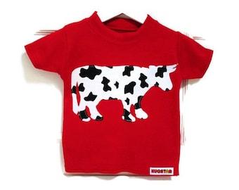 Baby, Kid's Cow T shirt