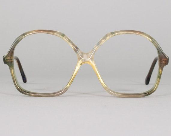 Vintage Eyeglasses Frame | 70s Glasses | Vintage Eyeglass | 1970s Aesthetic | Deadstock Eyewear - Dora