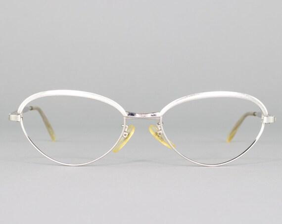 60s Glasses | Vintage Cateye Eyeglass Frame | 1960s Cateye Eyeglasses | Deadstock Eyewear
