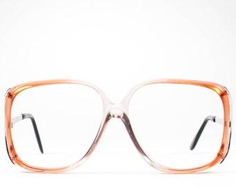 Vintage Eyeglasses   70s Glasses   1970s Oversized Glasses Frames   1970s Deadstock - Rhonda Cherry