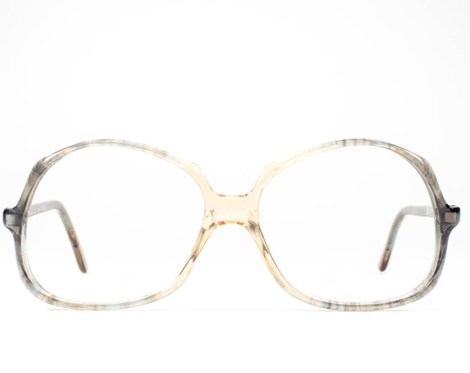 Vintage 1970s Eyeglass Frame | 70s Glasses | Oversized Eyeglasses | Seventies Deadstock Eyewear - Douce 03
